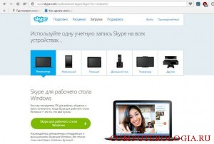 Программа Skype для Windows